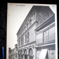 Coleccionismo: FOTOGRAFIA - SALAMANCA - CASA DE SALINAS - FACHADA - 37X27CM - CIRCA 1890. Lote 105904067