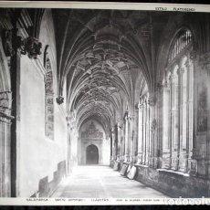 Coleccionismo: FOTOGRAFIA - SALAMANCA - SANTO DOMINGO - CLAUSTRO - 36X30CM - CIRCA 1890. Lote 105906155
