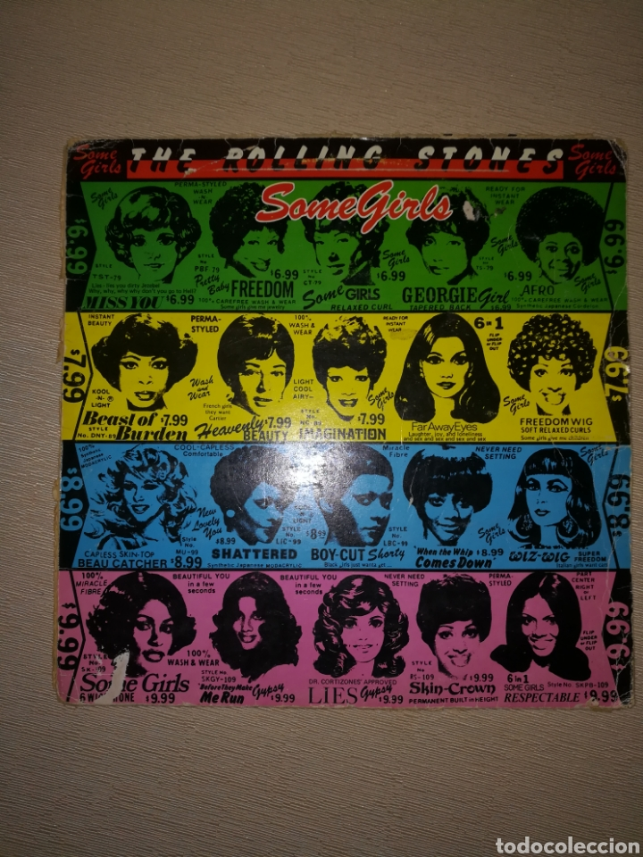 Disco vinilo the rolling stones  some girls  - Sold at