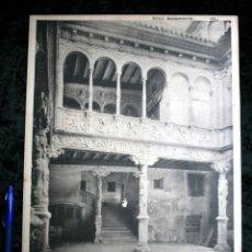 Coleccionismo: FOTOGRAFIA - ZARAGOZA - CASA ZAPORTA - PATIO - 37X27CM - CIRCA 1890. Lote 106185823