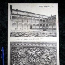 Coleccionismo: FOTOGRAFIAS - SALAMANCA - COLEGIO IRLANDESES - VALLADOLID SAN BENITO SILLERIA - 35X24CM CIRCA 1890. Lote 106186291