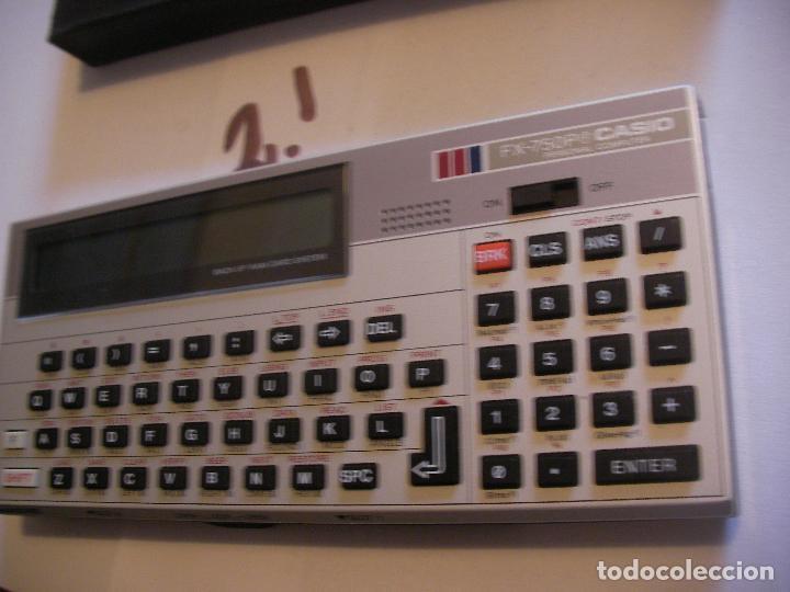 Coleccionismo: ANTIGUA CALCULADORA CASIO FX 750 - Foto 3 - 106484819