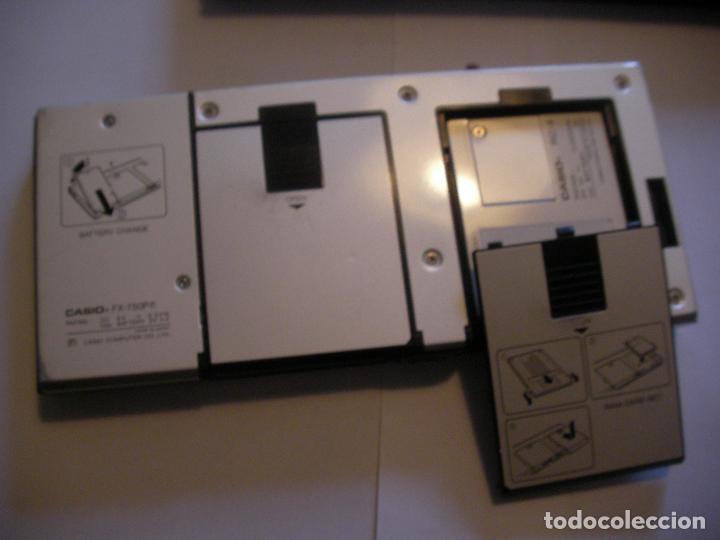 Coleccionismo: ANTIGUA CALCULADORA CASIO FX 750 - Foto 4 - 106484819