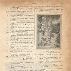 Coleccionismo: LAMINA ESPASA 3832: DON QUIJOTE Y SANCHO. Lote 106616043