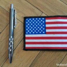 Coleccionismo: R3401 PARCHE DE TELA BANDERA ESTADOS UNIDOS EEUU USA. Lote 106956047