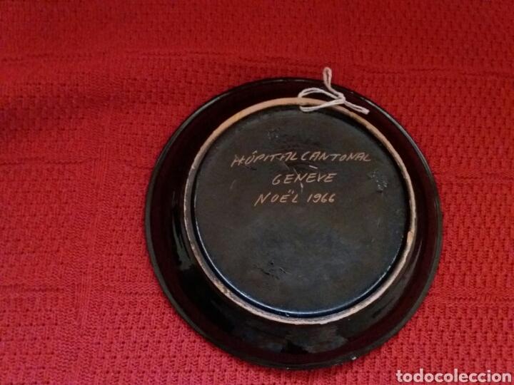 Coleccionismo: PLATO DECORADO CERÁMICA - Foto 2 - 107046772