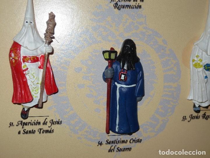 Coleccionismo: coleccion completa en VITRINA FIGURAS plastico NAZARENOS CARTAGENA COFRADE SEMANA SANTA - Foto 4 - 107074767