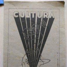 Coleccionismo: ANTIGUO VALLS ESCUELA MAESTRÍA INDUSTRIAL DESEMBRE 1937 CULTURA CATÁLOGO. Lote 107827995