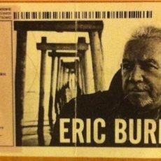 Coleccionismo: ERIC BURDON ENTRADA SALA APOLO BARCELONA SÁBADO 4 DE MAYO DE 2013. Lote 177966563