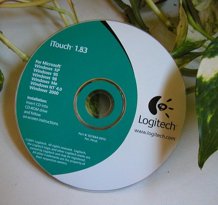 CD LOGITECH TOUCH 1 83 PARA WINDOWS XP, 95, 98, ME, NT 4 0 Y WINDOWS 2000