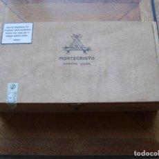 Coleccionismo: CAJA 25 MONTECRISTO EDMUNDO VACIA. Lote 108434979