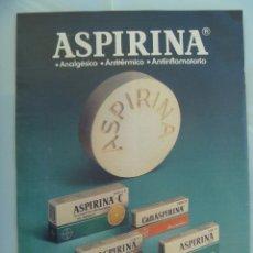 Coleccionismo: HOJA DE PERIODICO CON PUBLICIDAD DE ASPIRINA BAYER. AÑOS 70.. Lote 108458371