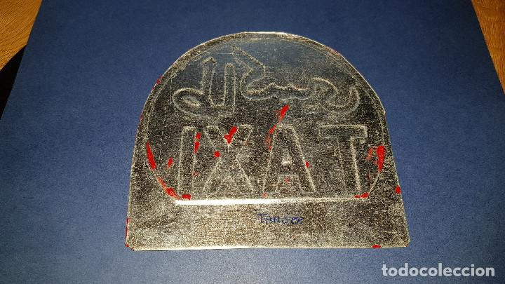 Coleccionismo: PLACA METALICA TAXI TANGER - Foto 2 - 108845291
