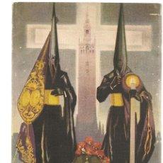 Coleccionismo: SEMANA SANTA DE SEVILLA. 1946. SINDICATO DE HOSTELERIA Y SIMILARES DE SEVILLA. (V1/C2). Lote 109000527