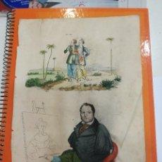 Coleccionismo: LAMINA ANOMALIAS HUMANAS SIGLO XIX. Lote 109104743