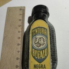 Coleccionismo: BOTE DE CRISTAL TINTURA NEGRA BUFALO. Lote 111895398