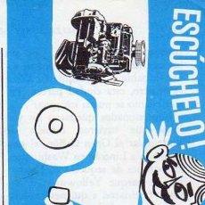Coleccionismo: ANUNCIO PUBLICIDAD MOTOR MATACAS. Lote 109165303