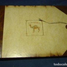 Coleccionismo: GRAN ÁLBUM DE LA HISTORIA DE CAMEL, 36 PÁG EN PERFECTO ESTADO. VER FOTOS. Lote 109244855