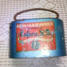 Coleccionismo: HUCHA CAJA AHORROS PROPIEDAD DE ESFERA SA COMPAÑÍA HISPANO AMERICANA DE CAPITALIZACIÓN. Lote 109866599