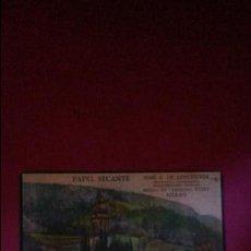 Colecionismo: EXCELENTE LITOGRAFIA PAPEL SECANTE GRAFICAS LERCHUNDI. BILBAO. AÑOS 50. Lote 109938055