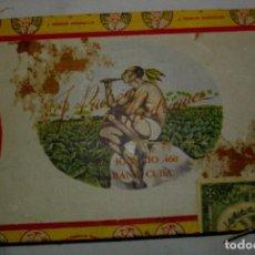 Coleccionismo: ANTIGUA CAJA DE PUROS VACIA , ARGUILIO, ÉPOCA PRE REVOLUCIÓN, CUBA. Lote 122249388