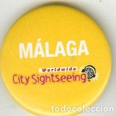 Coleccionismo: CHAPA DE ALFILER - MÁLAGA. Lote 110835475