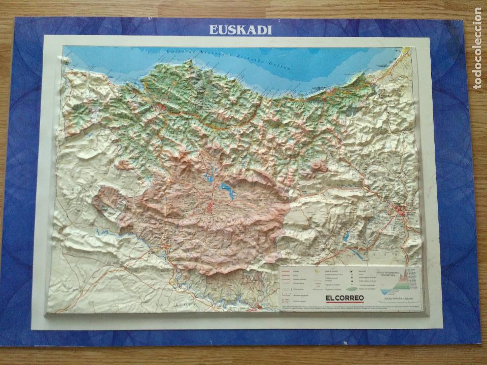 Mapa Pais Vasco Buy Other Collectables At Todocoleccion 111171679