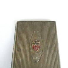 Coleccionismo: VALENCIA CLUB DE FUTBOL. PITILLERA PLATEADA ANTIGUA.. Lote 111352236