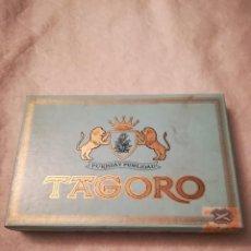 Coleccionismo: CAJA DE PURROS TAGORO (BACIA). Lote 111545847