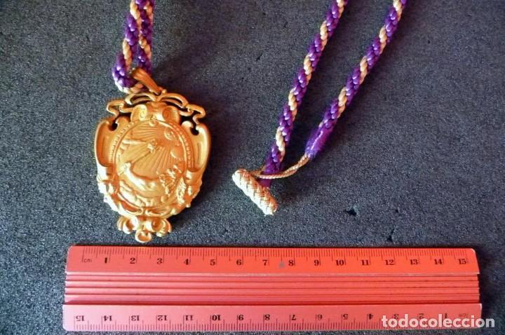 Coleccionismo: (JX-180210)Medalla de cuello de la Real Academia de Medicina de Salamanca . - Foto 4 - 111575555