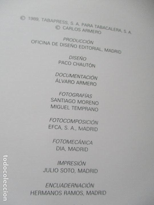 Coleccionismo: CARLOS ARMERO, PIPAS ANTIGUAS, UN VIAJE ATREDEDOR DEL MUNDO.- TABACALERA-1989 - Foto 5 - 111597131