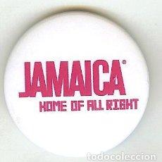 Coleccionismo: CHAPA DE ALFILER - JAMAICA. Lote 111727239