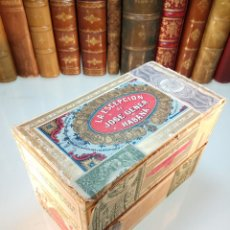 Coleccionismo: LOTE DE 2 CAJAS DE HABANOS LA ESCEPCIÓN - JO´SE GENER - HABANA - REPÚBLICA DE CUBA - BOMBONES - . Lote 111848787