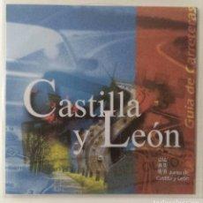 Coleccionismo: CARRETERAS DE CASTILLA Y LEÓN. CD ROOM. PARA PC. Lote 112140347