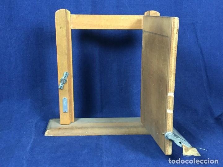 Coleccionismo: publicidad trampilla puerta montaje burmatic burlete automatico bajo puerta puertas salga calor 24cm - Foto 7 - 112321727