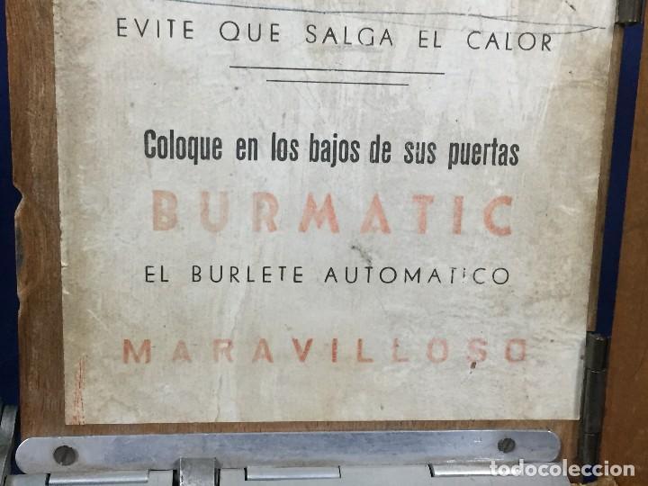 Coleccionismo: publicidad trampilla puerta montaje burmatic burlete automatico bajo puerta puertas salga calor 24cm - Foto 12 - 112321727