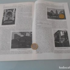 Coleccionismo: LÁMINA ESPASA T-161 - VALLDEMOSA (BALEARES) + VALLDENEU (BARCELONA) +VALLDIGNA (V+ VALLDOREIX. Lote 113841707