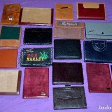 Coleccionismo: LOTE CARTERAS/MONEDEROS. Lote 113887975