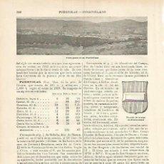 Coleccionismo: LAMINA ESPASA 3765: VISTA GENERAL DE PUERTOLLANO CIUDAD REAL. Lote 113914190