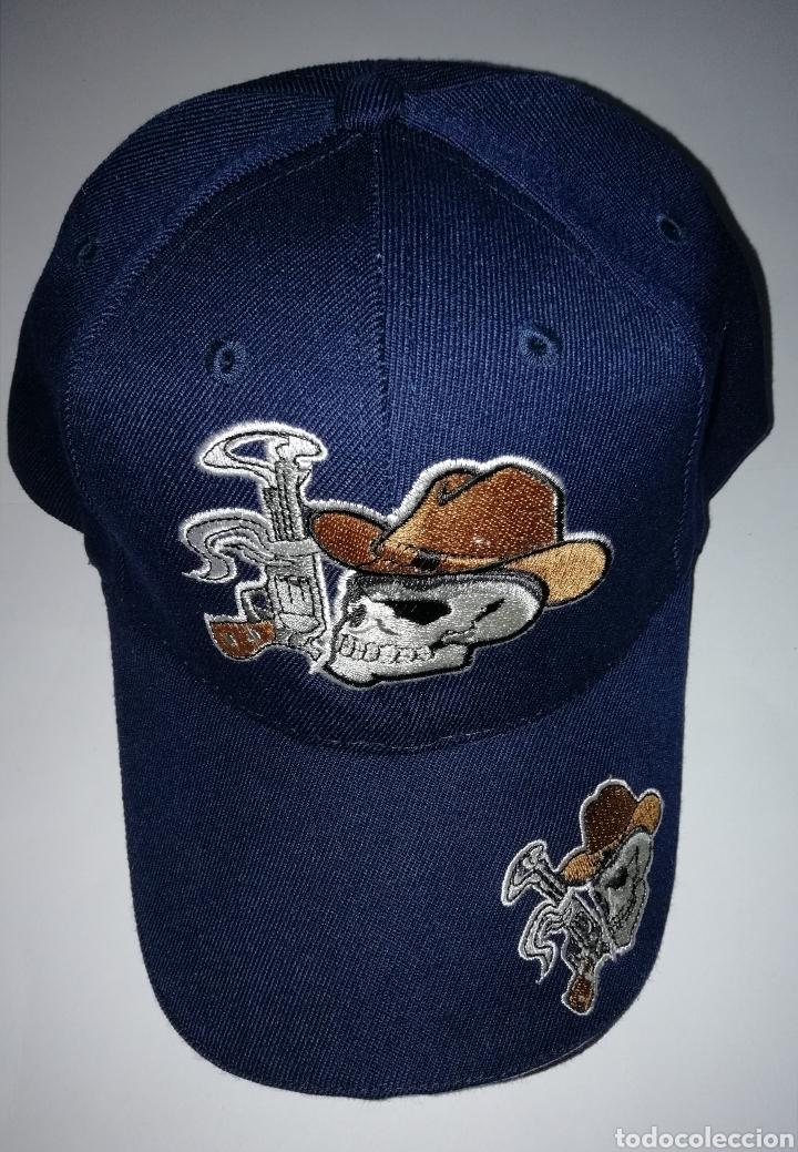48c8fc5914d0c gorra calavera bordada. varios modelos - Comprar en todocoleccion ...
