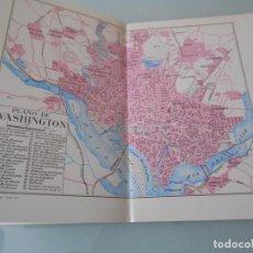 Coleccionismo: *.- LÁMINA ESPASA T-285 - PLANO DE WASHINGTON + FOTOS + TEXTOS (TOTAL 25 PÁGINAS). Lote 114378499