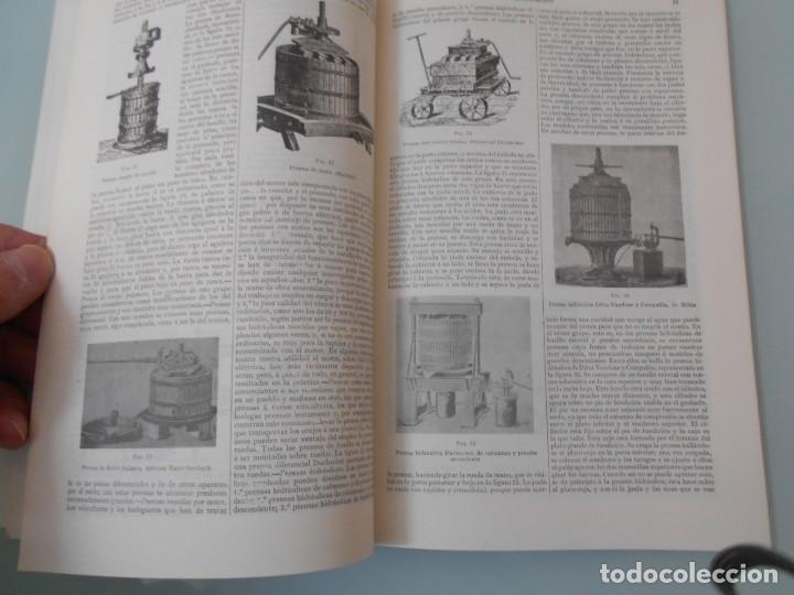 *.- LÁMINA ESPASA T-286 - VINIFICACIÓN (55 PÁGINAS ENTRE TEXTOS E ILUSTRACIONES - !MUY INTERESANTE! (Coleccionismo - Laminas, Programas y Otros Documentos)