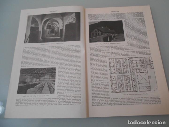 Coleccionismo: *.- LÁMINA ESPASA T-286 - VINIFICACIÓN (55 PÁGINAS ENTRE TEXTOS E ILUSTRACIONES - !MUY INTERESANTE! - Foto 2 - 114380903