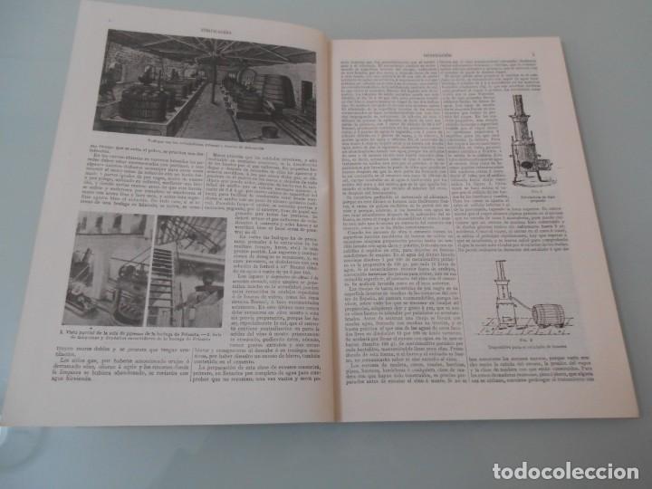 Coleccionismo: *.- LÁMINA ESPASA T-286 - VINIFICACIÓN (55 PÁGINAS ENTRE TEXTOS E ILUSTRACIONES - !MUY INTERESANTE! - Foto 3 - 114380903