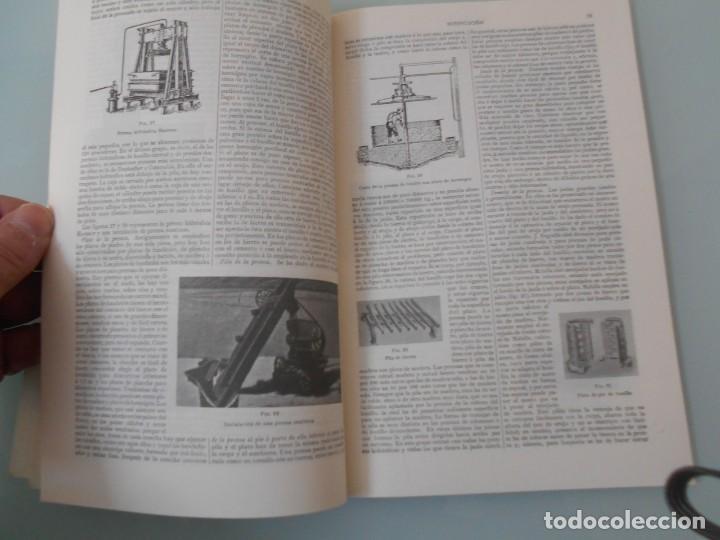 Coleccionismo: *.- LÁMINA ESPASA T-286 - VINIFICACIÓN (55 PÁGINAS ENTRE TEXTOS E ILUSTRACIONES - !MUY INTERESANTE! - Foto 6 - 114380903