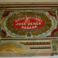 Coleccionismo: CAJA DE PUROS HABANOS MARCA HOYO DE MONTERREY (VACIA/COLECC) PRE- REVLC. Lote 114688263