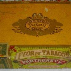 Coleccionismo: CAJA DE PUROS HABANOS MARCA PARTAGAS (VACIA/COLECC) PRE- REVLC. Lote 114688519