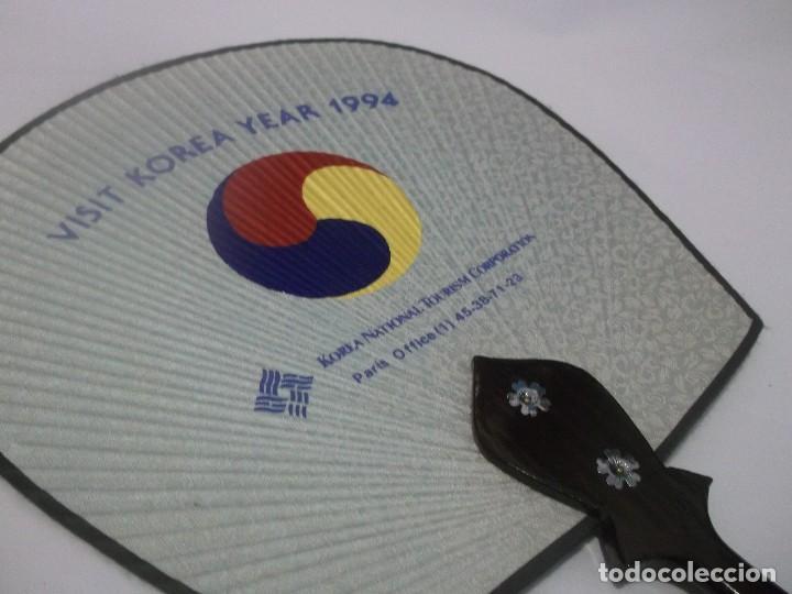 Coleccionismo: ABANICO PAY PAY DE MADERA Y PAPEL - KOREA AÑO 1994 - Foto 5 - 114970443