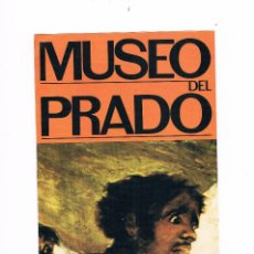 Coleccionismo: FOLLETO PUBLICIDAD GRANDES PINACOTECAS MUSEO DEL PRADO EDICIONES ORGAZ. Lote 115021903