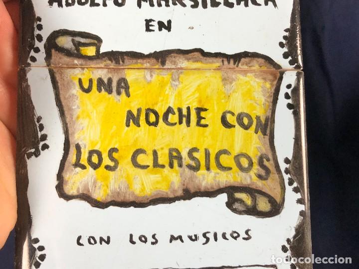 Coleccionismo: cartel publicitario ceramica teatro victoria eugenia san sebastian una noche con los clasicos - Foto 7 - 115081887
